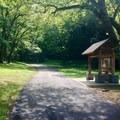 Trailhead for the Mossy Ridge Trail, Warner Parks.- Mossy Ridge Trail, Warner Parks