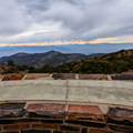Sierra View Overlook offers a view of the Eastern Sierra with a map naming each peak.- Ancient Bristlecone Pine Forest