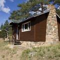 Staff housing at McGraw Ranch.- Bridal Veil Falls via Cow Creek Trail