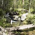 Another of the many cascades below Bridal Veil Falls.- Bridal Veil Falls via Cow Creek Trail