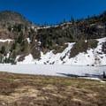 Spring snow in the Ski High Lakes Basin.- Sky High Lakes Basin