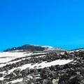 View up Cloud Peak.- Cloud Peak Via West Tensleep Trailhead