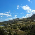 View from a campsite en route to Cloud Peak.- Cloud Peak Via West Tensleep Trailhead