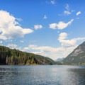 Buntzen Lake.- Buntzen Lake Beach