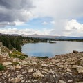 Gladys Lake, the destination for the hike.- Gladys Lake