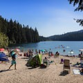 White Pine Beach, Sasamat Lake.- White Pine Beach, Sasamat Lake