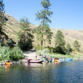 Boat ramp at Pine Bar on the Lower Salmon River.- Lower Main Salmon River: Pine Bar to Heller Bar