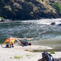 A large, sandy beach is perfect for a lazy day along the Lower Salmon River.- Lower Main Salmon River: Pine Bar to Heller Bar