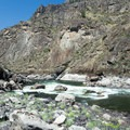 Snow Hole (Class IV) along the Lower Salmon River.- Lower Main Salmon River: Pine Bar to Heller Bar