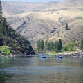Rafters along the Lower Salmon River.- Lower Main Salmon River: Pine Bar to Heller Bar
