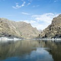 Snake River on the boarder of Oregon and Idaho.- Lower Main Salmon River: Pine Bar to Heller Bar