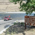 Boat ramp at Heller Bar on the Snake River. - Lower Main Salmon River: Pine Bar to Heller Bar