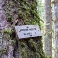 Sign for the Goodman Creek Trail.- Goodman Creek Trail