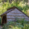 Ash Swale Shelter in the Willamette National Forest.- Eagles Rest Trail