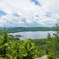 Fourth Lake dominates the view.- Rocky Mountain
