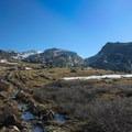 Hiking to Cloud Peak from the West Tensleep Creek Trailhead.- Cloud Peak Via West Tensleep Trailhead