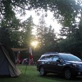 Camping in Cape Breton Highlands National Park.- Cape Breton Highlands National Park