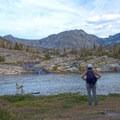 Jewel Lake.- Pine Creek Lake