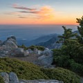 Cucamonga Peak is an awesome place to enjoy the sunset.- Cucamonga Peak