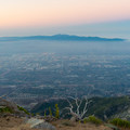 East L.A. from Cucamonga Peak.- Cucamonga Peak