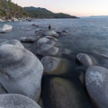 Watching the sunset on the boulders.- Bonsai Rock