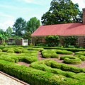 The upper garden is just one of four at Mount Vernon.- George Washington's Mount Vernon