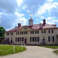 The 18th-century mansion at Mount Vernon is a very popular historic site.- George Washington's Mount Vernon