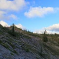 Only a short section of trail is rocky.- Bachelor Mountain