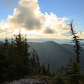 View to the west from the summit.- Bachelor Mountain