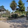 Main entrance.- Fullerton Arboretum