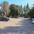 Parking area for the Arboretum.- Fullerton Arboretum