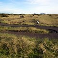 Fun, winding trail along Long Beach.- Lewis and Clark Discovery Trail