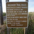 Trail rules are posted at most entrances.- Lewis and Clark Discovery Trail