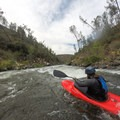 Paddling around a small hole.- South Fork of the American River: The Gorge, Greenwood to Salmon Falls Bridge