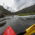 The chute leading into Surprise.- South Fork of the American River: The Gorge, Greenwood to Salmon Falls Bridge