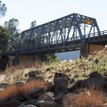The Salmon Falls Bridge marks the take-out.- South Fork of the American River: The Gorge, Greenwood to Salmon Falls Bridge