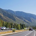 More incredible views south along the Wasatch Mountains.- Around the Valley