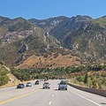 Dramatic Wasatch views heading south toward Big Cottonwood Canyon.- Around the Valley