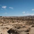 Desert surrounds Ricardo Campground.- Ricardo Campground