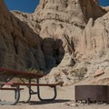 A campsite near the fascinating formations in Red Rock Canyon State Park.- Ricardo Campground