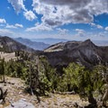 Panorama to the south and west from Bullen Hole Peak.- White Pine Grand Slam