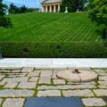 President John F. Kennedy's gravesite in Arlington National Cemetery.- Arlington National Cemetery