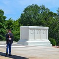 Tomb of the Unknown Soldier is guarded 24 hours a day, 365 days a year, by sentinels.- Arlington National Cemetery