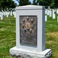 Space shuttle Challenger memorial in Arlington National Cemetery.- Arlington National Cemetery