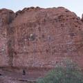 Chuckwalla Rock Climbing Area.- Chuckwalla Trail to Scout Cave