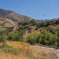 Looking up toward Parley's Canyon and the Wasatch Mountains.- Tanner Dog Park