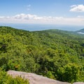 Looking east into the Hudson Valley.- North Point