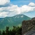 Giant Mountain across the valley.- Noonmark Mountain
