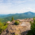 The views to the east.- Noonmark Mountain