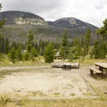 Typical site in Timber Creek Campground.- Timber Creek Campground